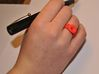 Ring Mo-At  Easy Avatar (From $14) 3d printed Lipps Ring Red