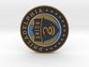 Philadelphia Union Soccer Logo 1 inch 3d printed