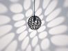 Hedron Series: Pendant Light 3d printed Hedron Pendant: As shown in black