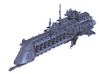 """Imperial Navy """"Tyrant"""" Cruiser 3d printed"""
