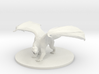 Adult White Dragon 3d printed