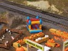 N Bouncing Castle Size 2 3d printed Painted model at the Pumpkin Patch. Thanks for the picture Mike!