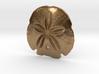 Arrowhead Sand Dollar Pendant 3d printed