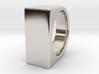 Signe Unique V - US10  - Signet Ring 3d printed