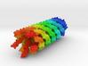 Filamentous Bacteriophage 3d printed