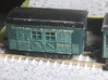 N Scale 20 foot Baggins Heavyweight Baggage Car 3d printed Finished car
