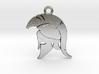 Spartan Warrior Helmet Pendant/Keychain 3d printed