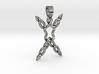 Human celtic knot [pendant] 3d printed