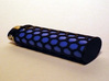 Honey Comb Lighter Case 3d printed Blue Bic