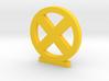 X-Men Logo 3d printed