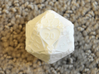 D20 Balanced - Cards (Plastic) 3d printed