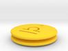 Libra Symbol Earring 3d printed