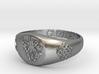 Guzman Signet ring Size 13 3d printed