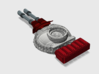 Battle Tank: Phobos - Laser Cannon Turret Weapon 3d printed