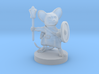 Mousefolk Cleric 3d printed