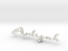 3dWordFlip: Aaliyah /Sebastian  3d printed