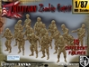1/87 Army Zombies Set001 3d printed