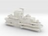 1/144 USS Yorktown CV-10 Island 1944-1945 3d printed