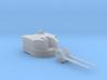 "1/128 Battle Class 4.5""/45 QF MKIV RP10 Gun x1 3d printed 1/128 Battle Class 4.5""/45 QF MKIV RP10 Gun x1"