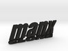 Dune Buggy MANX CLONE rear badge. 3d printed