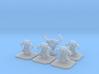Evil Dwarf Topper / Token / Objective / Marker 3d printed