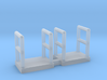 N Scale Walkway 5mm 2pc 3d printed