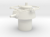 Japanese WWII Shi ki-turret 15mm / 1/100 Scale 3d printed