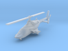 030J Modified Bell 222 1/350 3d printed