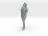 Girl with wine glass 3d printed