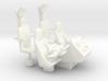 1/12 COCKPIT CONSOLE SEATS 3d printed