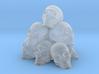 Pile of Skulls 3d printed
