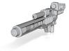 Blaster for Legion TFP Hun-Gurr 3d printed