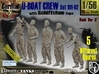 1/56 German U-Boot Crew Set101-02 3d printed