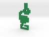 8-Bit Atari Adventure Dragon - Slain Pose 3d printed Grundle