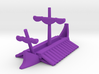 1/1200 Phoenician Trireme Game Pieces 3d printed