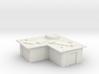 L-shaped tin slum  3d printed