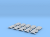 10x blank - Marine Boarding Shields 3d printed