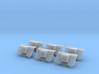 1/144 IJN 12cm AA Rocket mounts Set x6 3d printed
