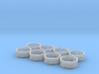 AC Power Adjust Rims Set of 8 3d printed