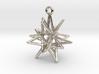 Stellar Drop Pendant 3d printed