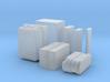 1:43 DEAGO FALCON YT1300 ANH CARGO BOX SET Q-W 3d printed