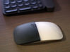Magic Mouse snap-in half-cover 3d printed