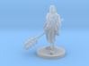 Half Orc Male Monk with Kanabo 3d printed
