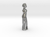 African Woman Necklace / room decoration 3d printed