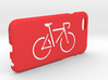 Iphone 6 case, Bicycle 3d printed