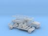 1/87 1990-98 Chevy Silverado CrewCab ContractorKit 3d printed