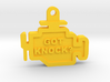 Got Knock Check Engine Keychain 3d printed