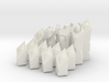 Low-Poly Chess Set 3d printed