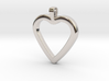 Classic Heart Pendant 3d printed