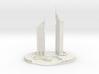 Jumeirah Emirates Towers (1:2000) 3d printed